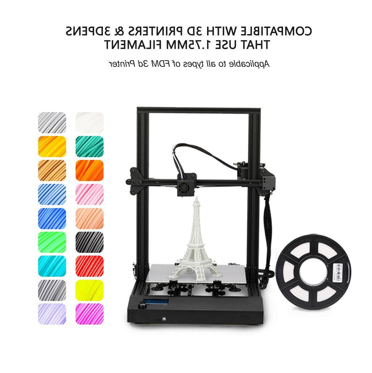 SUNLU 3D 1.75mm PLA SILK 1kg/2.2lb Color