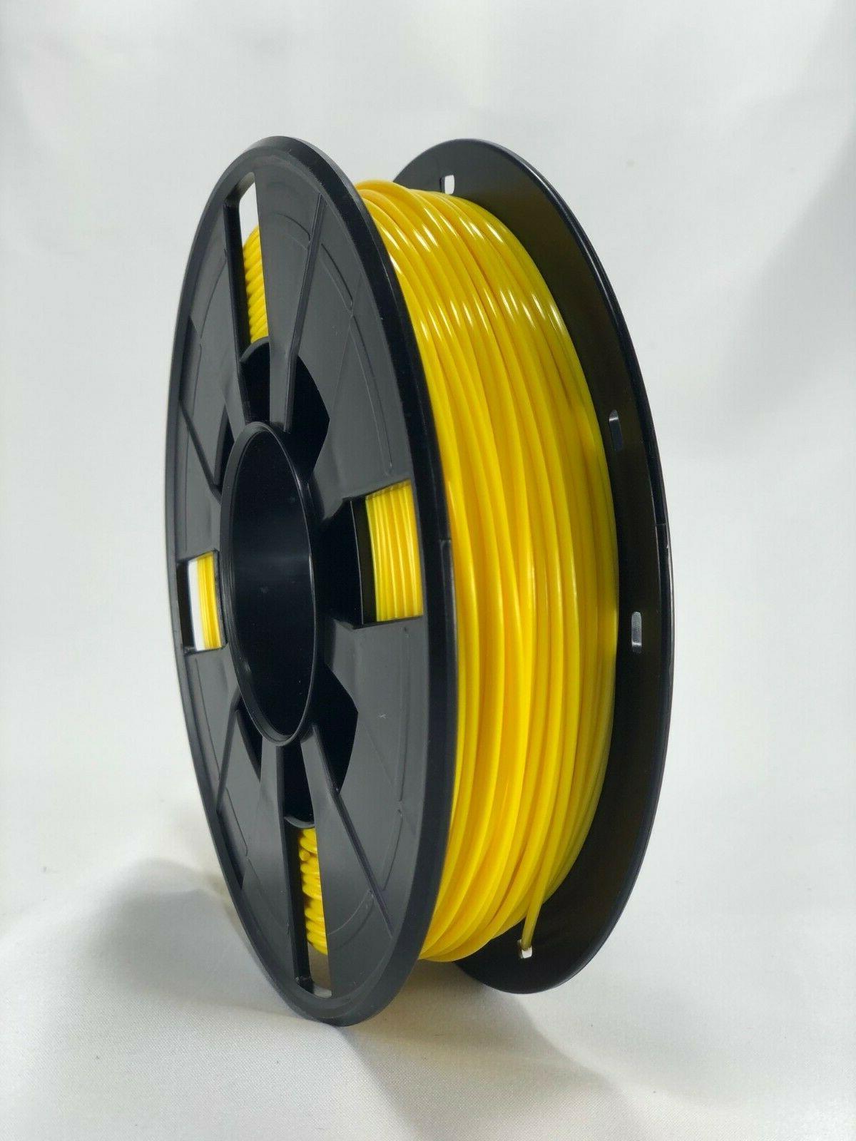 3D Printer Filament PLA-1 250g 1.75mm Roll, Yellow COLOR