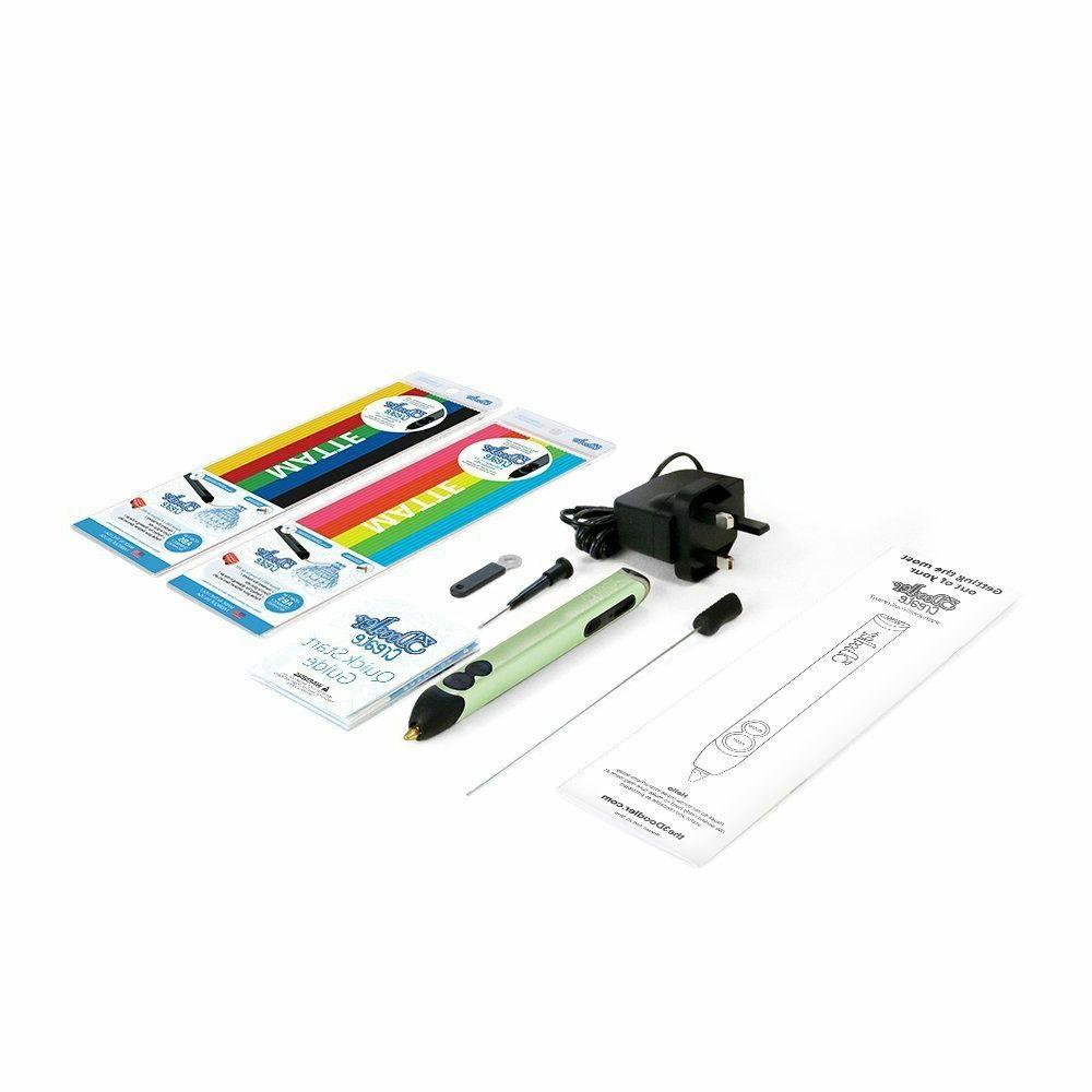 3DOODLER 3D Printer With Drawing Crafting