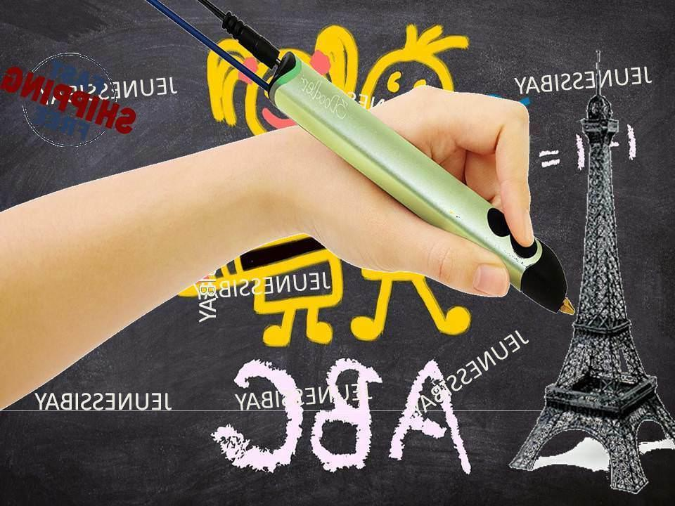 3DOODLER Pen With Filament Printing Drawing For Sart Art Crafting