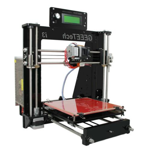 3D Geeetech Pro B Acrylic I3 Printer MK8