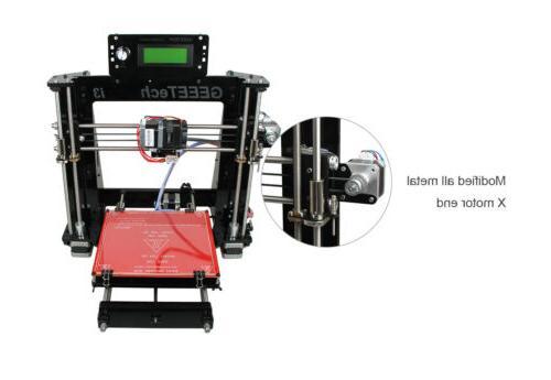 3D B Acrylic Reprap Prusa I3 DIY Printer
