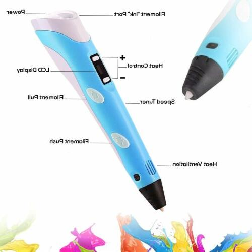 3D Printing Pen Crafting Doodle Arts Modeling