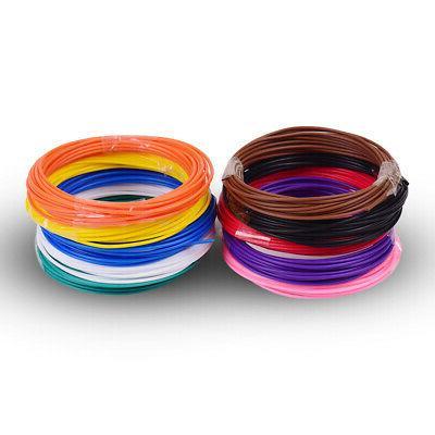 5M*10 Colors PCL Print Filament Refills Material For 3D Draw