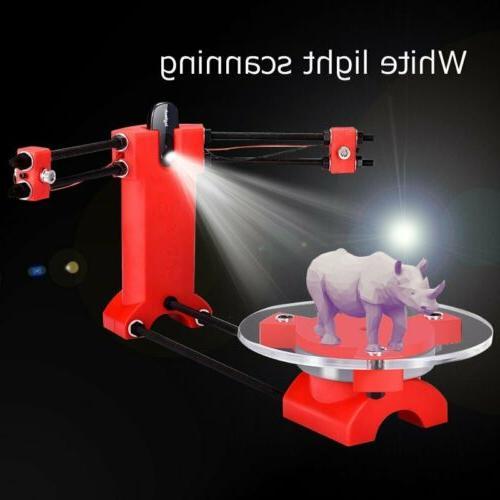 diy 3d scanner open source laser plate