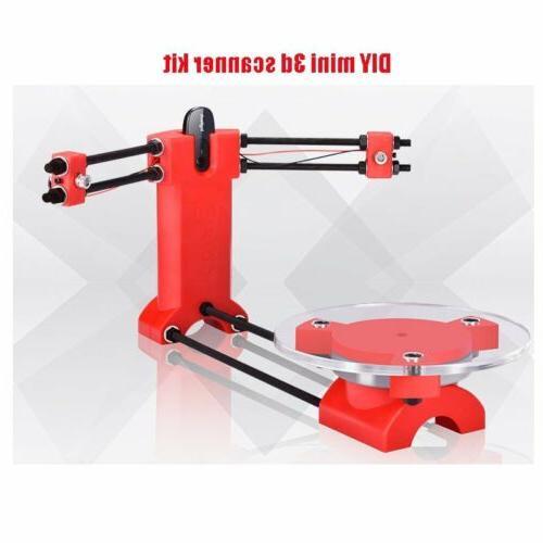 DIY 3D Scanner Open Source Laser Plate Kit w/Adapter Object