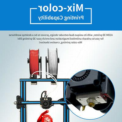 Geeetech 2-In-1 Mix-Color Printing Size