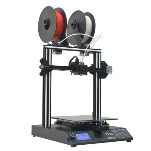 quick assembly a20m 3d printer dual extruder