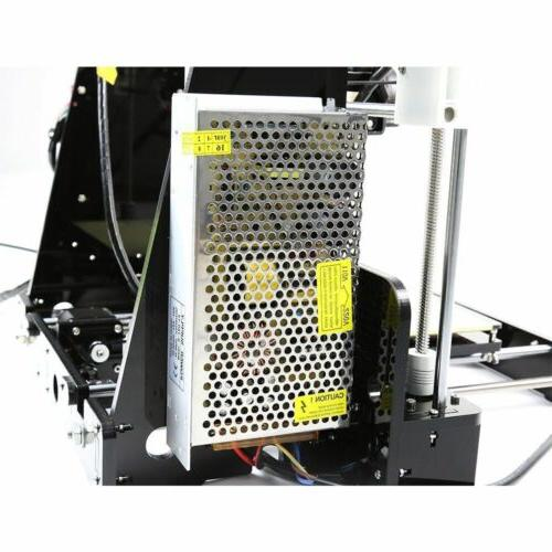 A8 3D Printer High Precision Reprap Wooden LCD2004 Free
