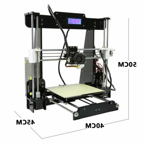 Anet A8 3D Self-assembly DIY Kit with & TF Card