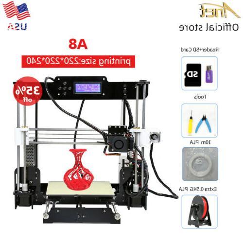 a8 diy desktop 3d printer 220 220