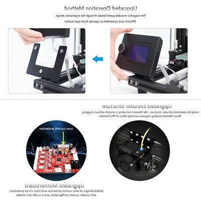 DIY Printer Kit 300*300*350mm LCD Control