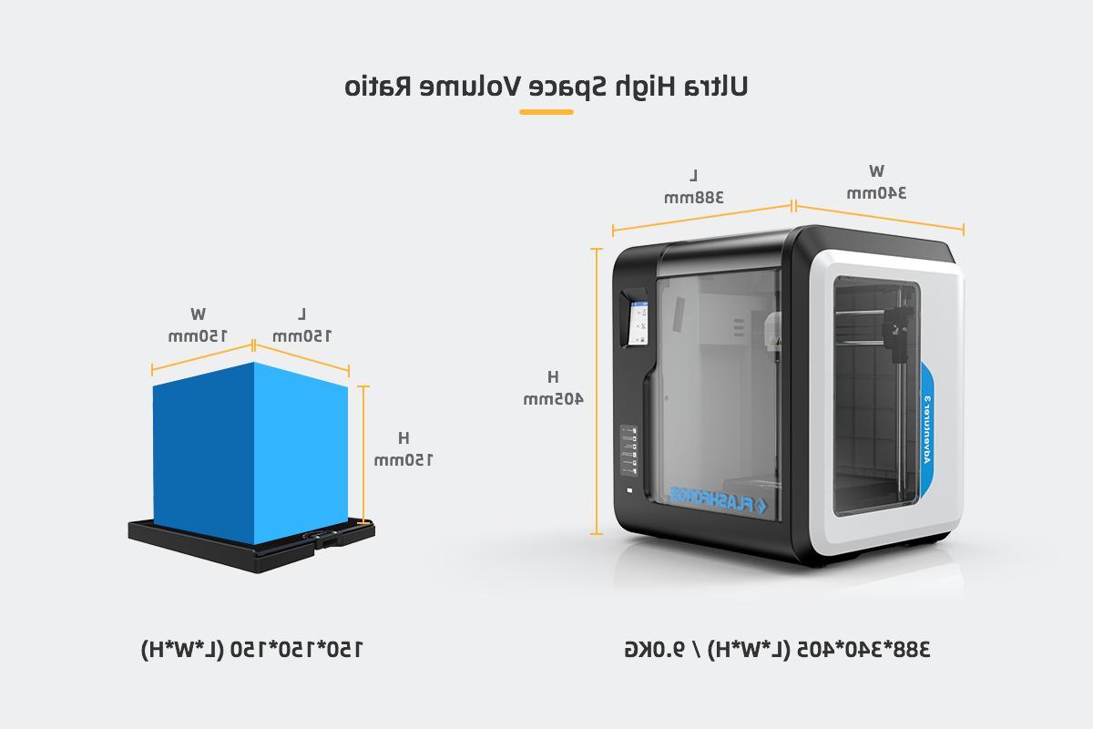 Flashforge Adventurer Printers Machine Fast