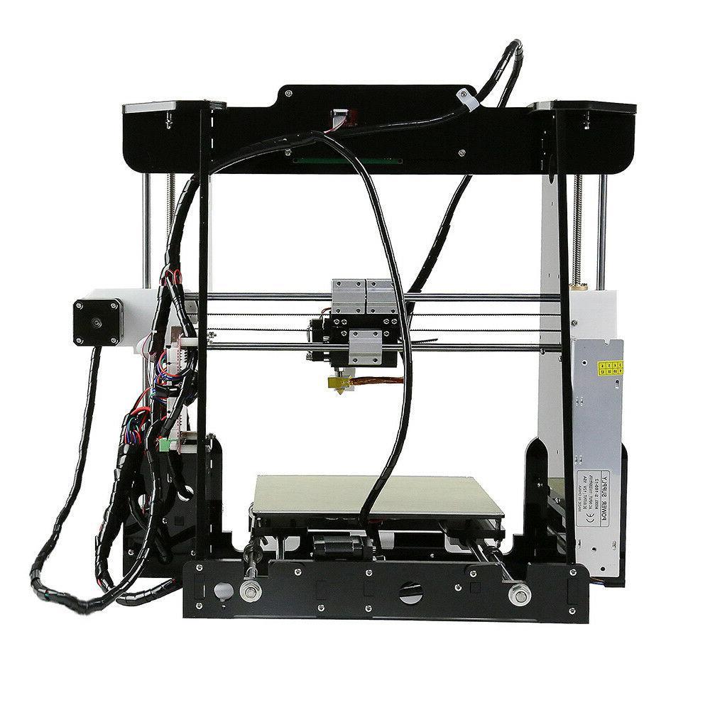Anet DIY Desktop 3D 220*220*240mm 2004LCD Prusa i3 175ft PLA
