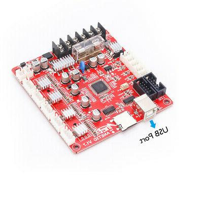 Anet A8 Printer Mainboard V1.7 Control Mother Board US