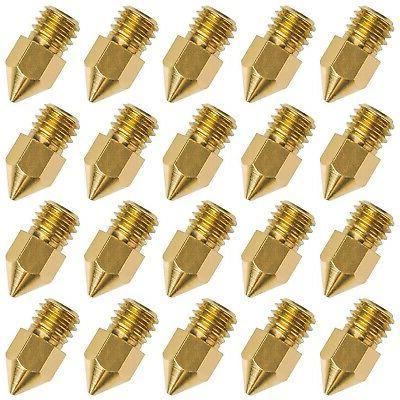 brand new 20 pcs 3d printer nozzle