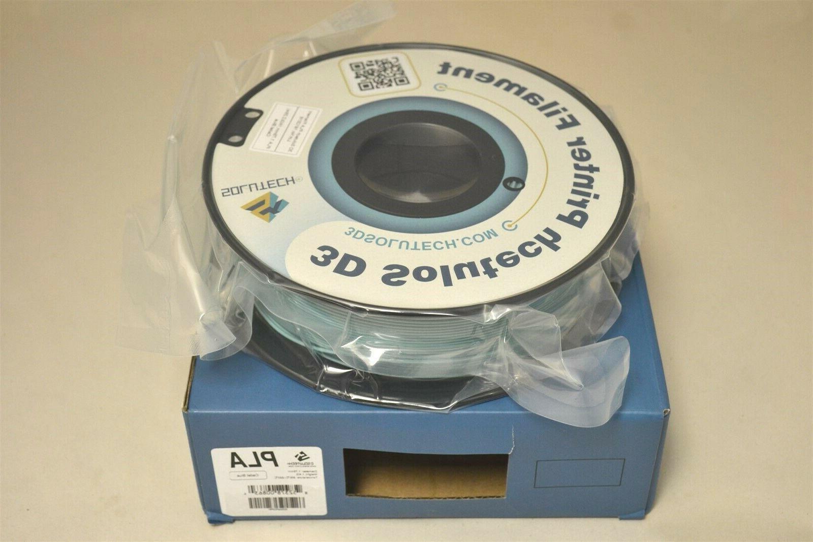 cadet blue 3d printer pla filament 1