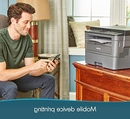 Brother Printer, HLL2390DW, Flatbed Copy & Wireless Printing, Amazon Dash