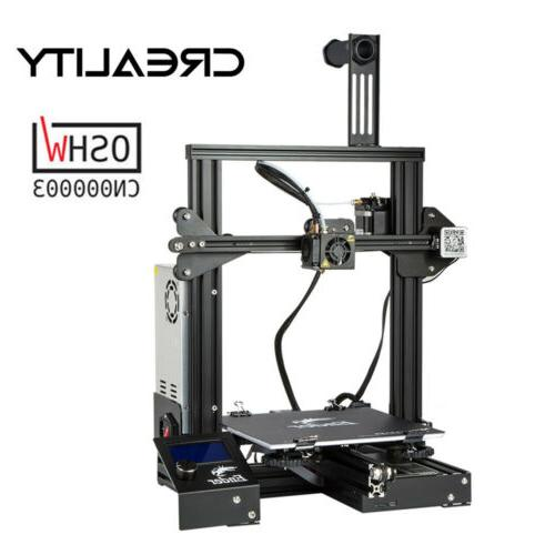 Creality Ender 3 3D Filament Glass Heatbed