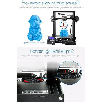 Creality 3D Printer Hot Bed 220x220x250mm 24V