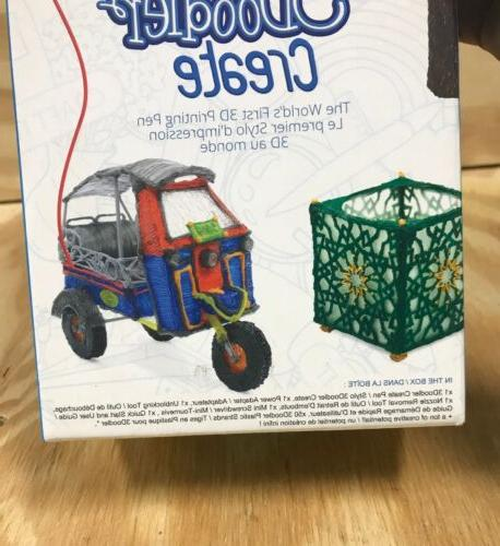 3Doodler First Printing with 50 strands