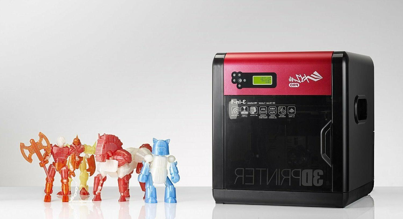 NEW da 1.0 3D Printer PRINTING +