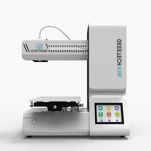 Geeetech E180 Open Source Assembled 3D Printer Colorful Scre