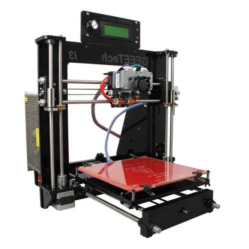 3D printer I3 Pro C Dual MK8 Extruder Acrylic High Accuracy
