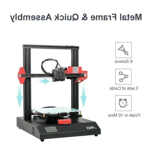 Anet 3D 220*220*250mm Metal Auto Leveling Filament Sensor DIY US