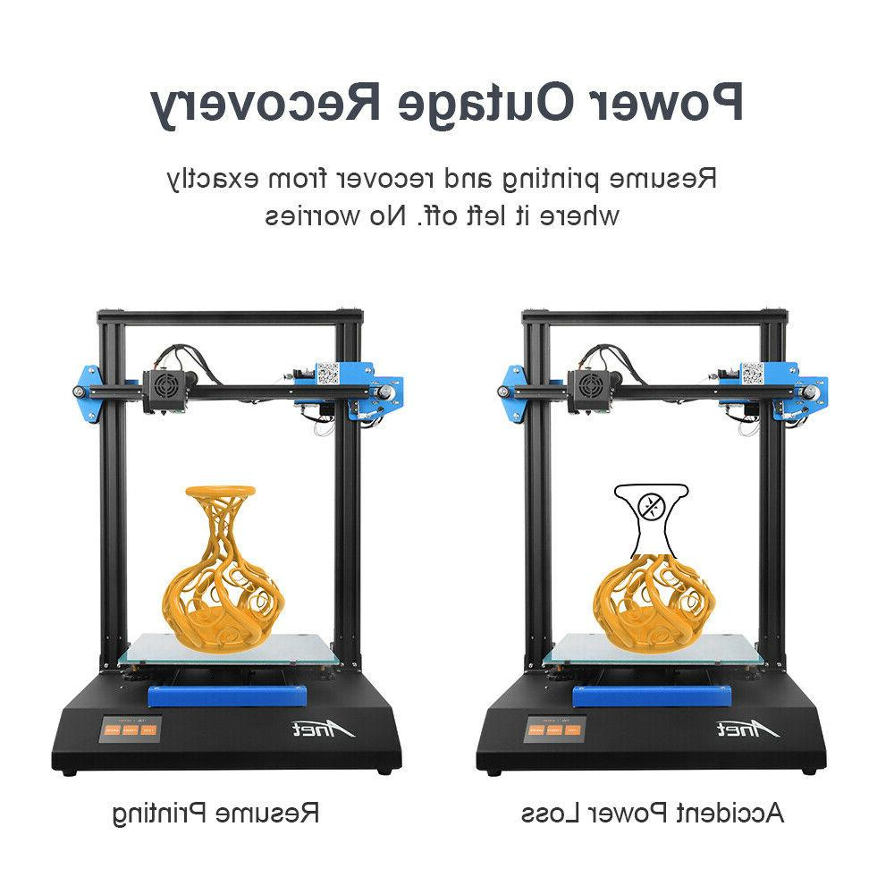 Anet Printer with 300*300*400mm Print Size Touch Screen