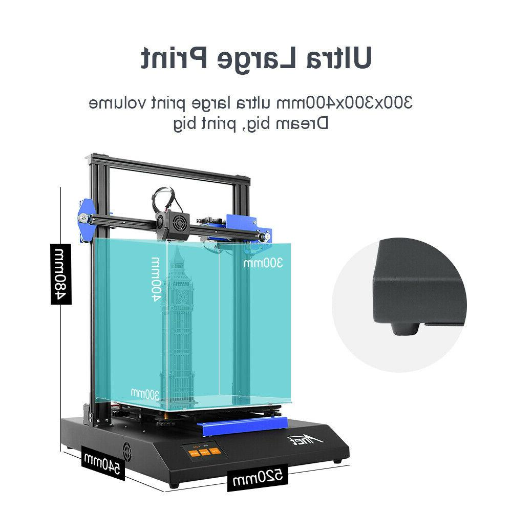 Anet ET5X DIY 3D Printer with Size 3.4-inch Touch