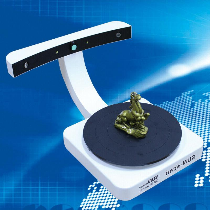 high accuracy portable sun scan desktop 3d