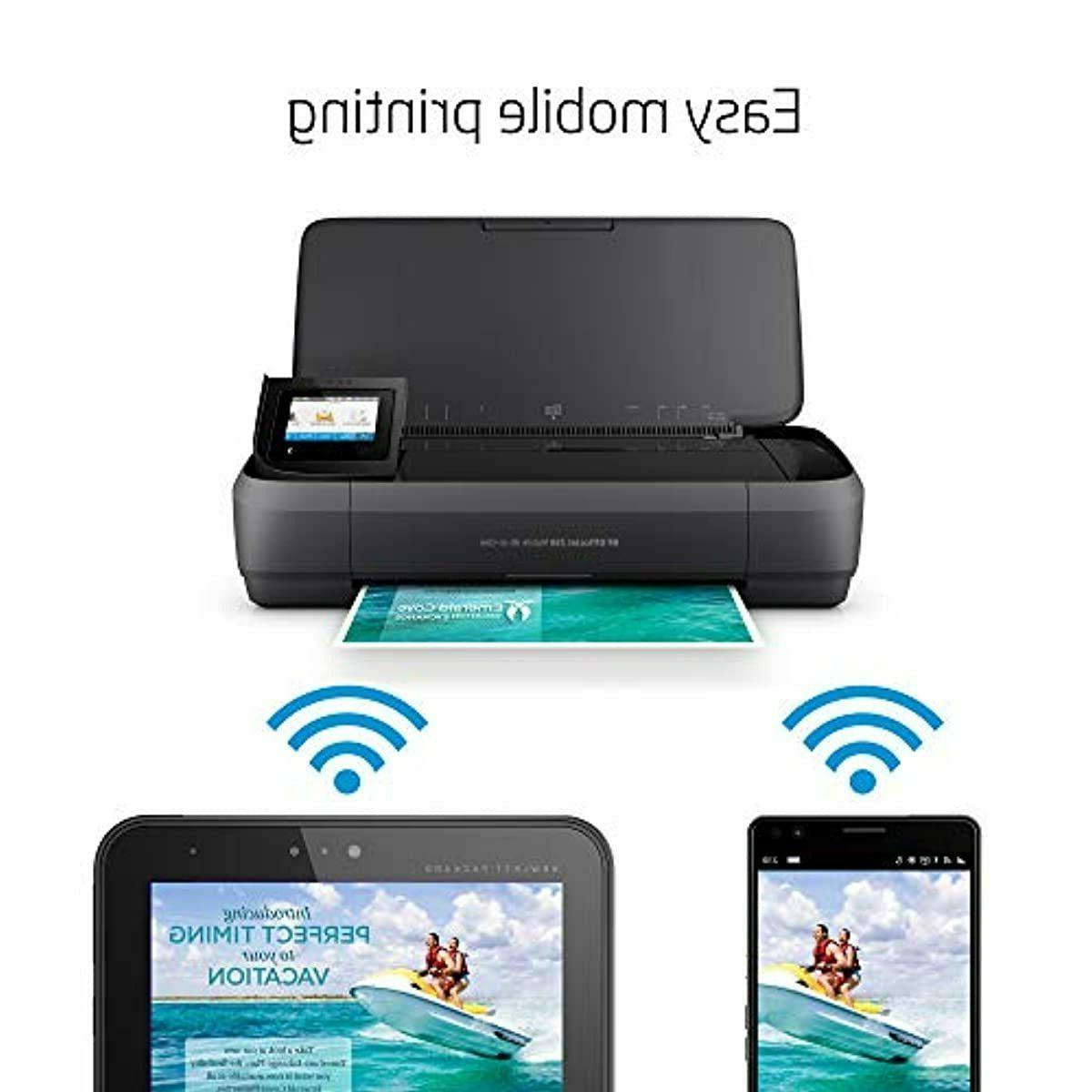 HP OfficeJet 250 Portable Printer with &
