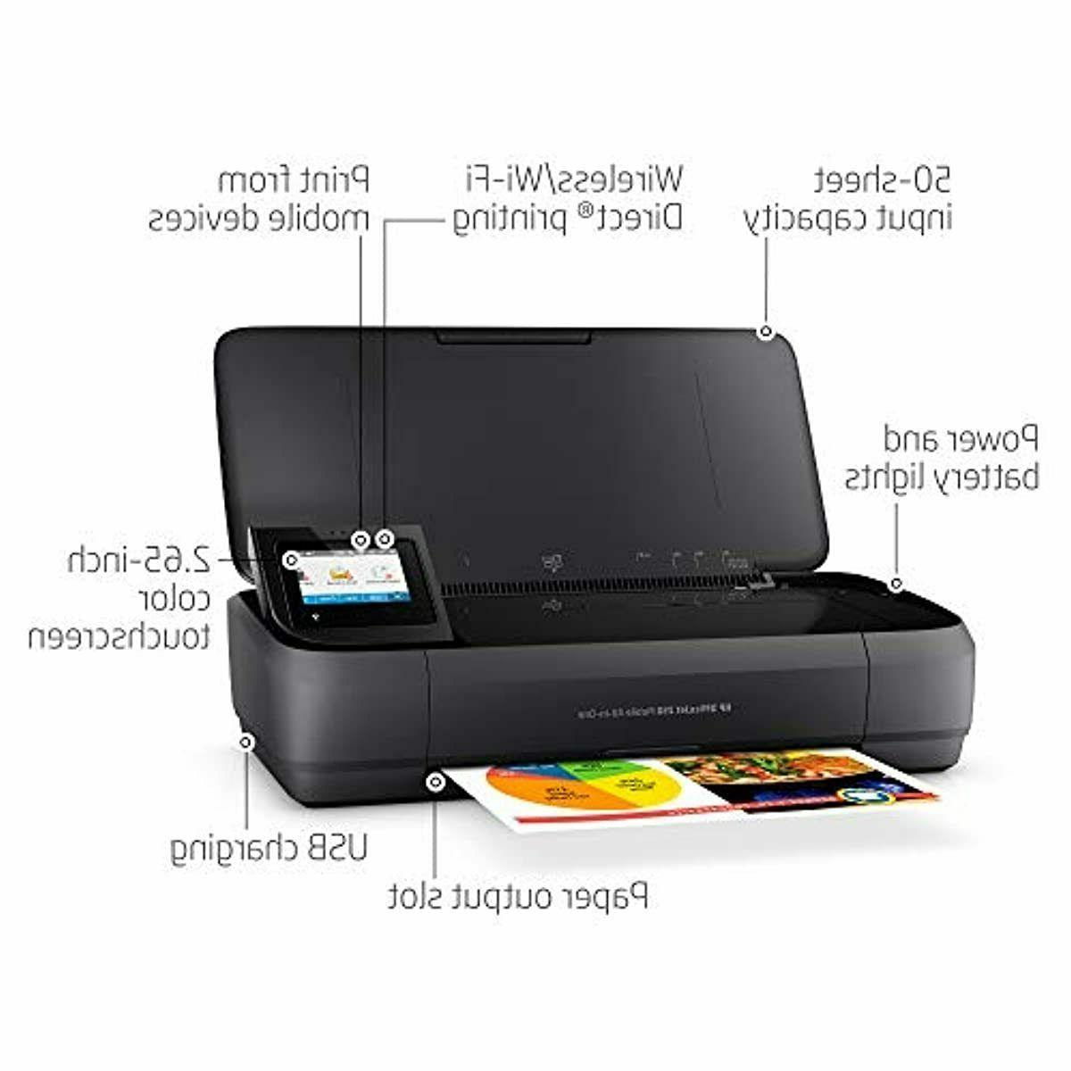HP All-in-One Portable Printer