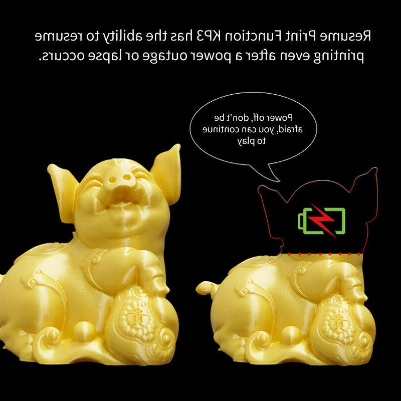 KingRoon KP3 DIY Kit 3D Printing Filament ABS 180*180*180mm