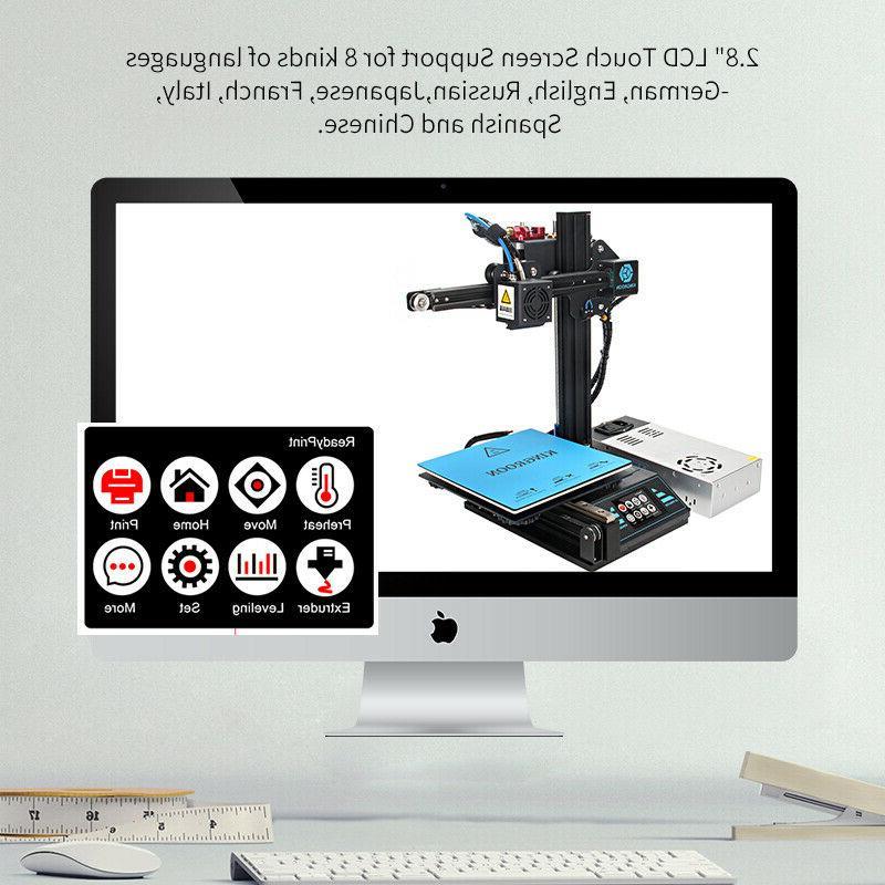 KingRoon 3D DIY Filament PLA 180*180*180mm