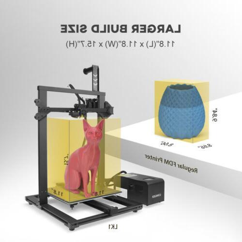 Longer LK1 300x300x400mm Large Size PLA Filament Printer