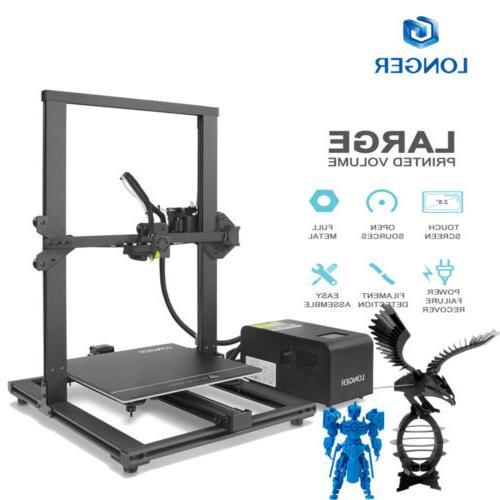 Longer LK1 Printer 300x300x400mm Large Size Filament Frame