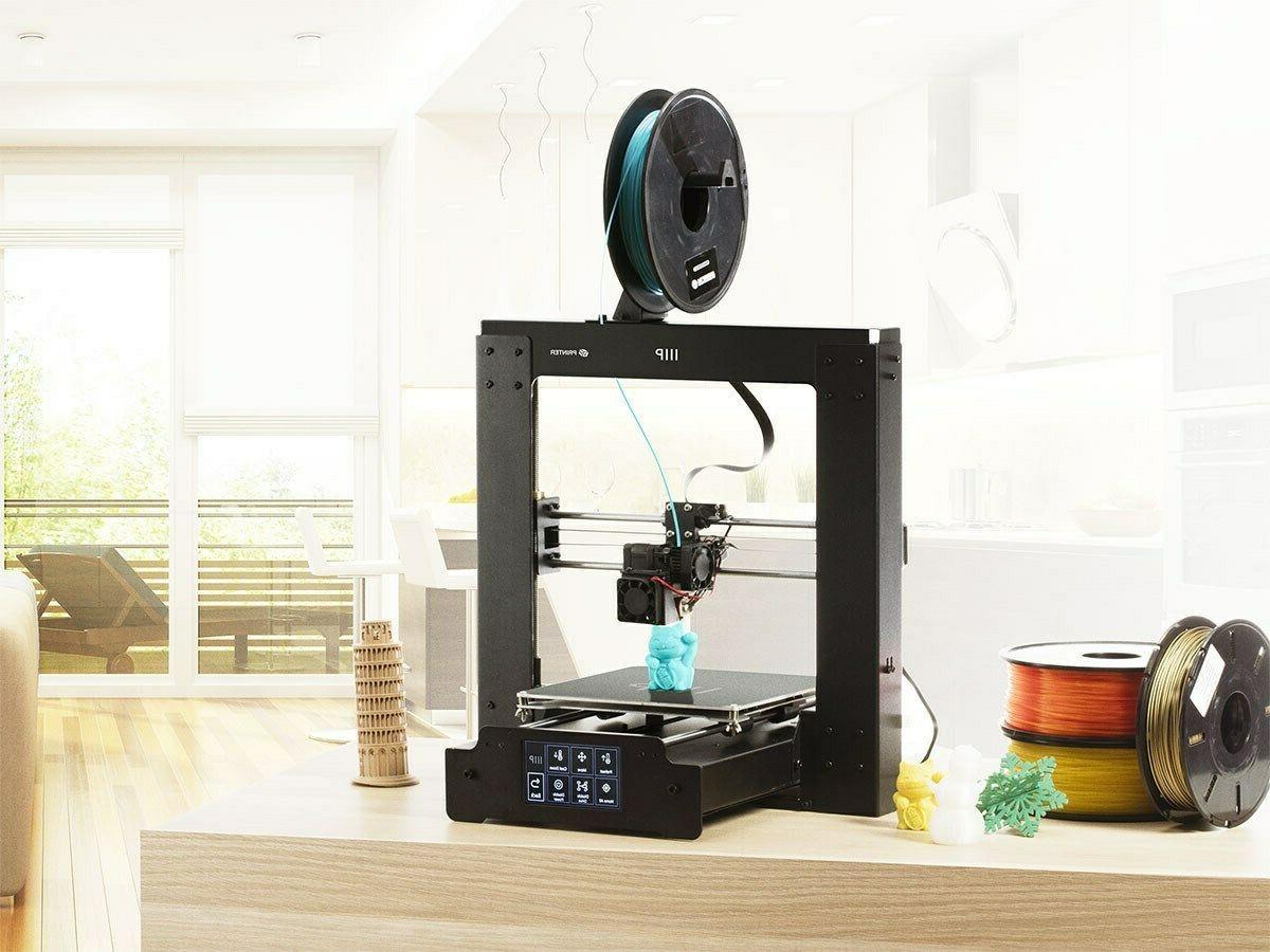 Monoprice Maker 3D Printer Plate PLA MicroSD