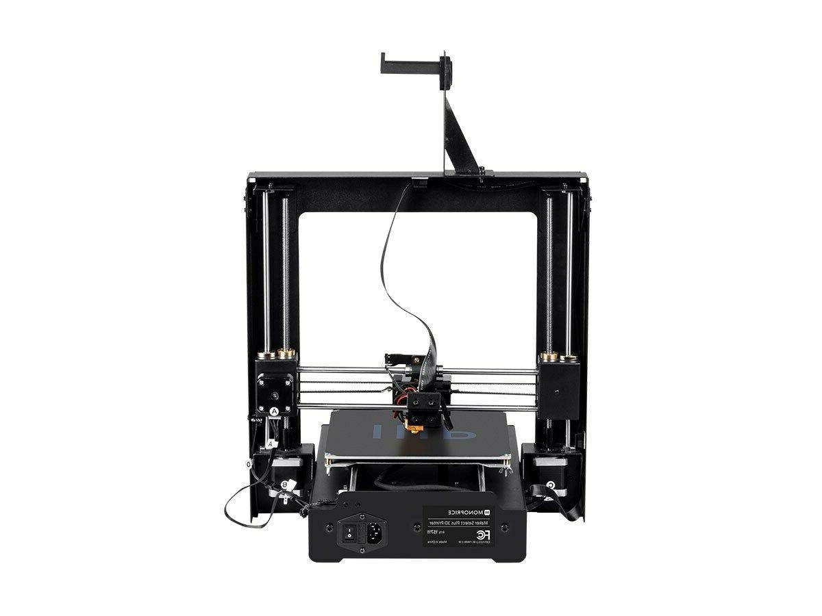 maker select plus 3d printer heated build