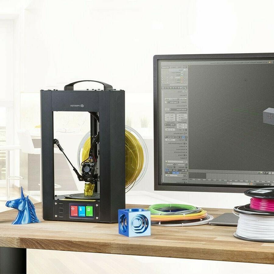 Mini Printer Assembled LCD Screen Wi-Fi &
