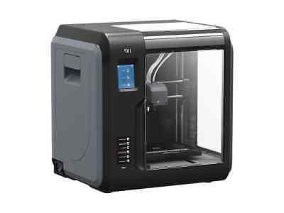 mp voxel 3d printer enclosed grey black
