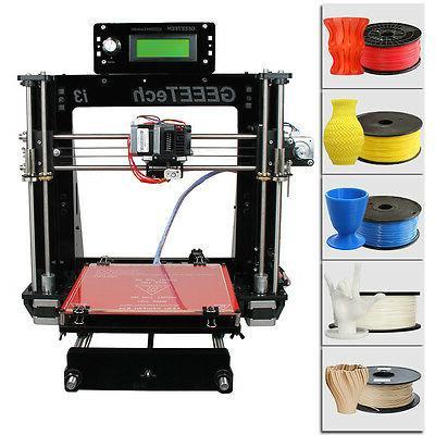 new acrylic reprap 3d printer prusa i3