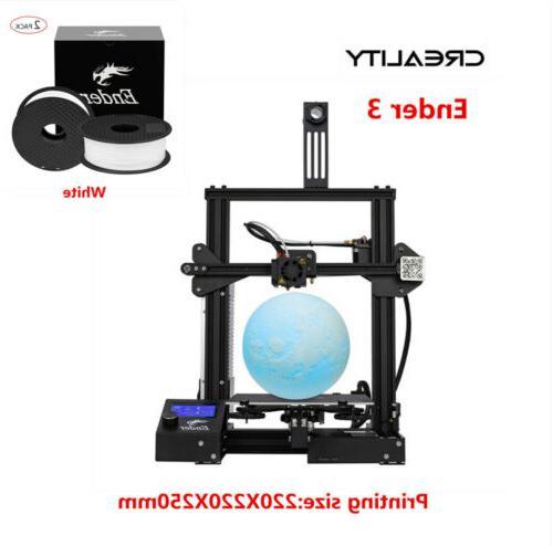 Creality 3 Pro 3D Printer + 2Kg PLA 24V US