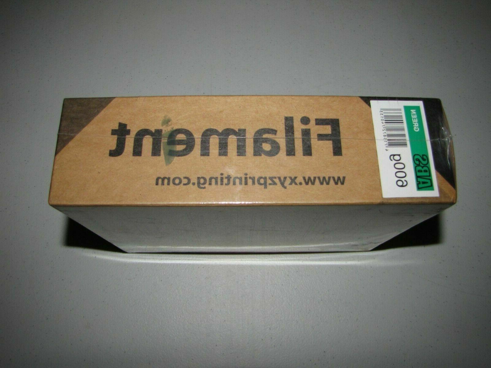 NEW XYZprinting Filament da Vinci 3D Green 1.75mm, 600g SEALED
