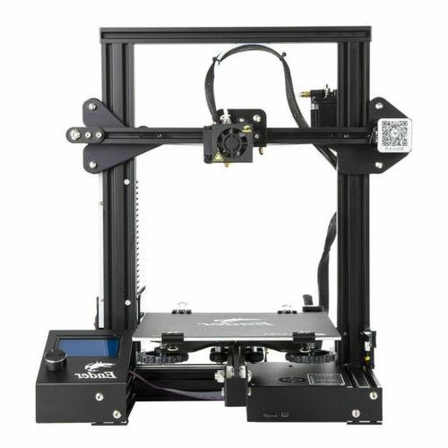 New Offical Creality 3D Ender 3D DIY 24V 15A Desktop USA Stock