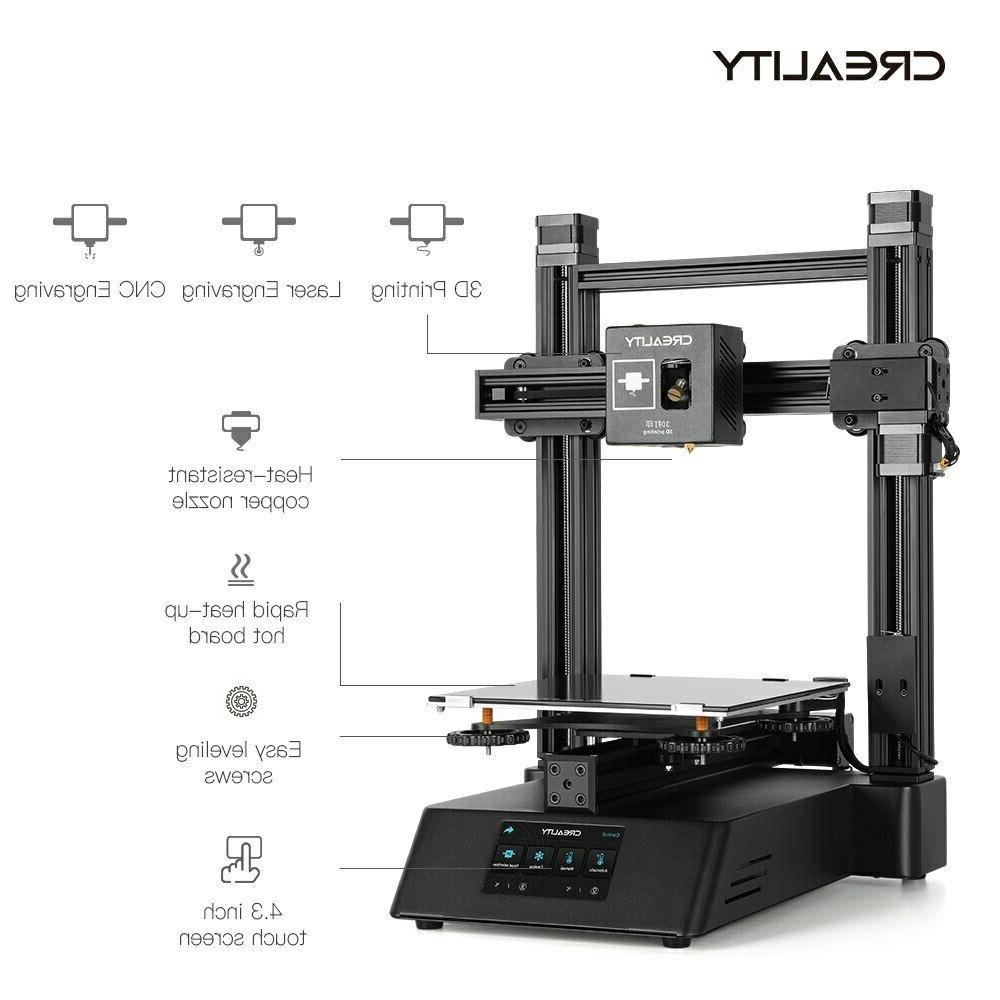 Newest 3D printer Laser Engraving CNC Function Touch