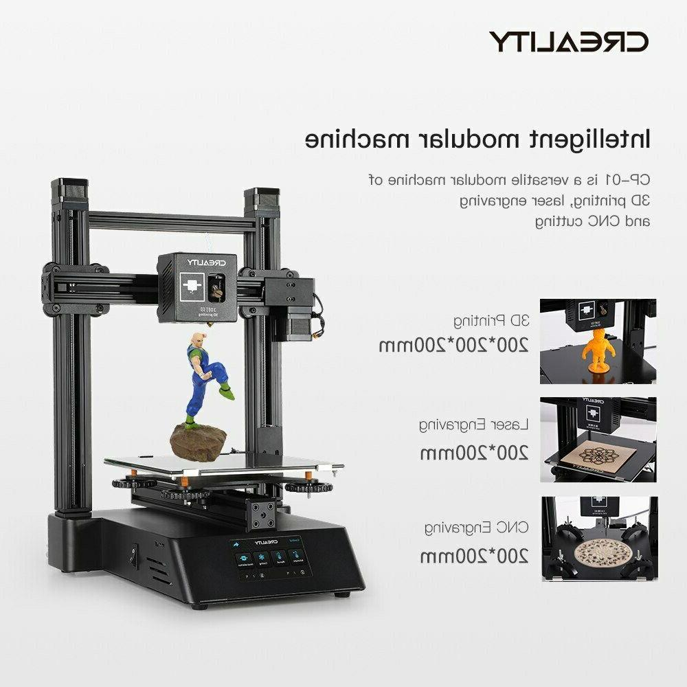 Newest 3D printer CP-01 Laser Function 3 Touch