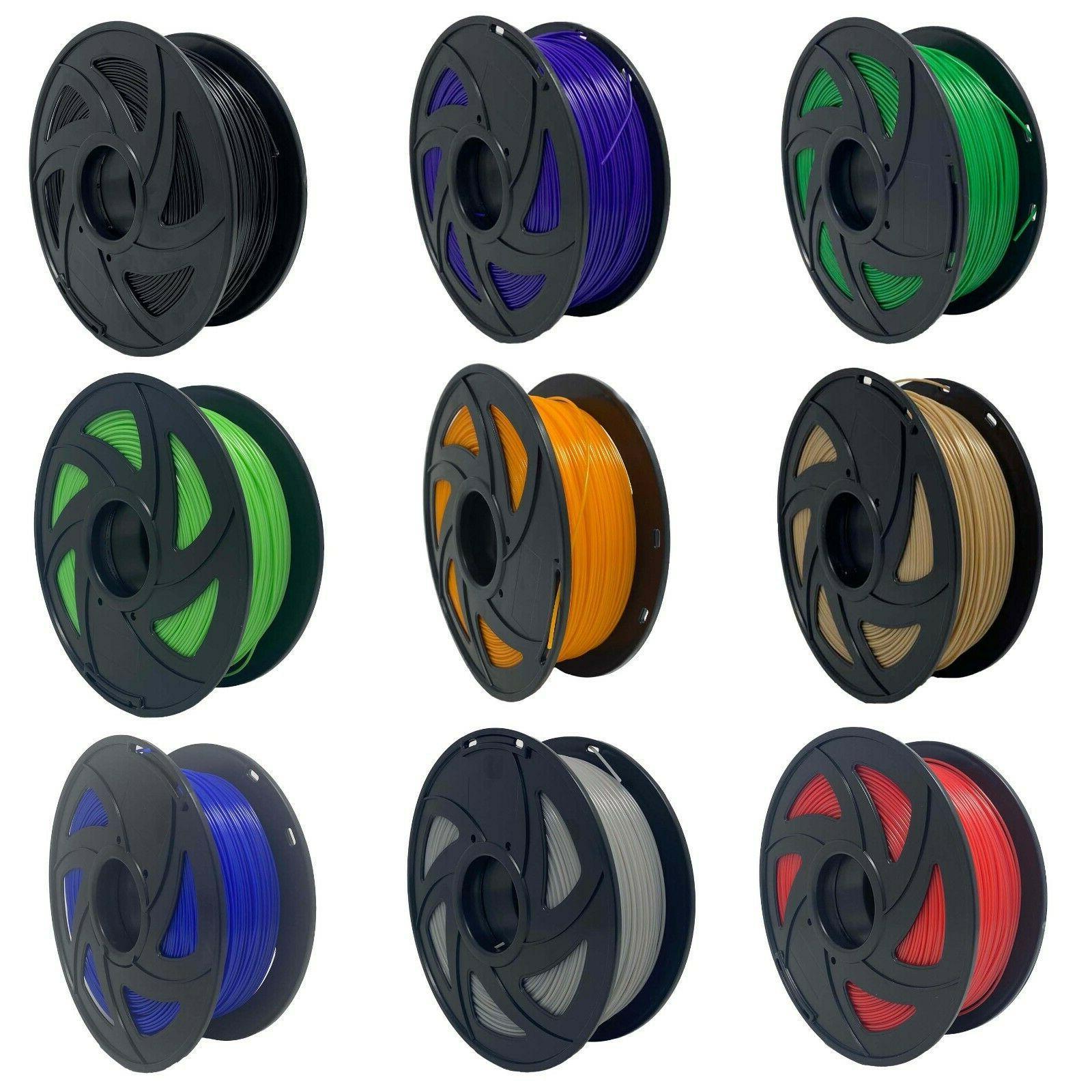 PETG Filament 18 Colors Available 1.75mm - 1kg/2.2lb 3D