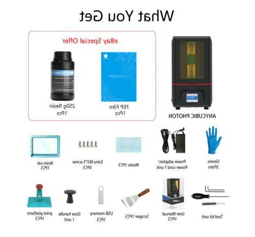 EU ANYCUBIC SLA Photon UV Resin Printer Assembled 2.8